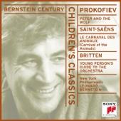 Leonard Bernstein & New York Philharmonic - Bernstein Century - Children's Classics: Prokofiev: Peter and the Wolf, Saint-Saëns: Carnival of the Animals, Britten: Young Person's Guide  artwork