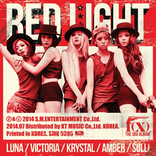 f(x) - The 3rd Album Red Light