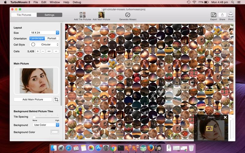 TurboMosaic 3 for Mac 3.6.2 破解版 - 马赛克图片制作工具
