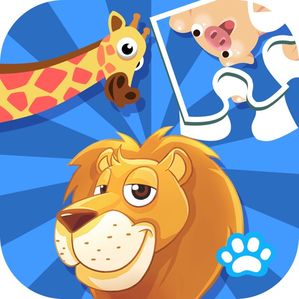 Kids Puzzle:Animal - Uncle Bear education game