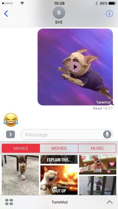 TuneMoji Screenshot
