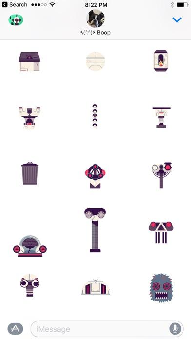 Die Roboter-Fabrik von Tinybop Screenshot