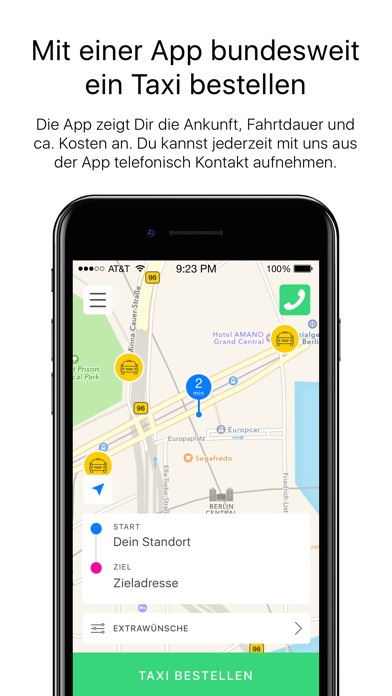 Taxi Deutschland Screenshot