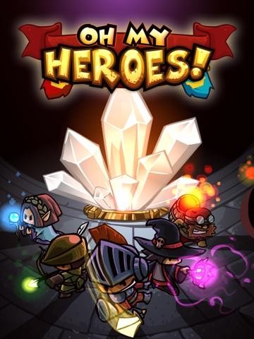 Oh My Heroes! Screenshot