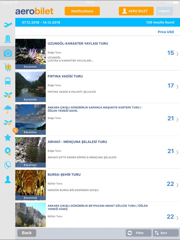 Aerobilet - Flights,Hotels,Bus Screenshot