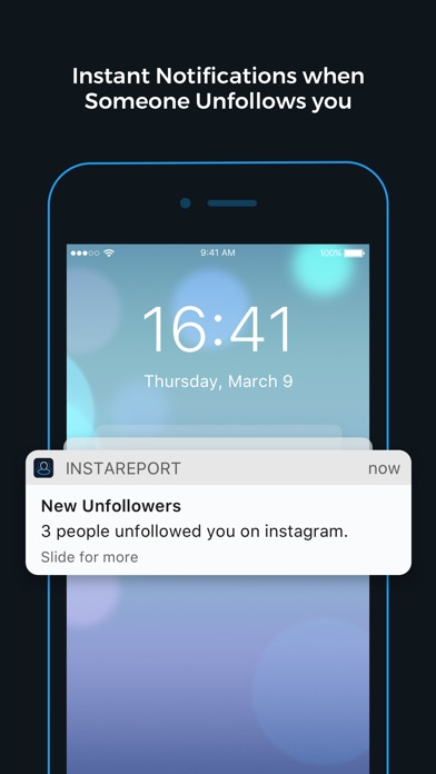 Reports+ for Instagram Screenshot