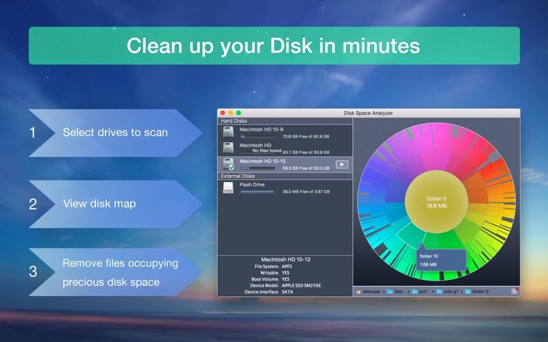 Disk Space Analyzer Pro 3.6 Mac 破解版 磁盘分析管理软件