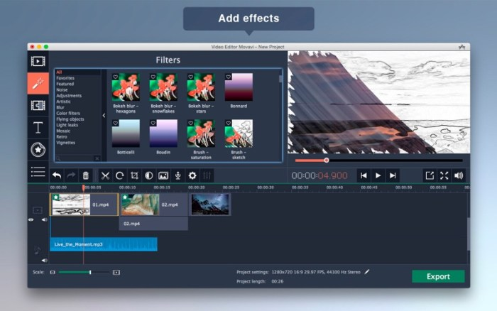 Movavi Video Editor 5 5 download free | Mac Torrent Download