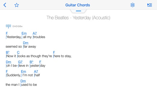 Songsterr Tabs & Chords Screenshot