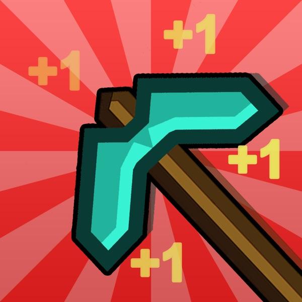 Clickcraft - Pickaxe Block Mining Clicker Game