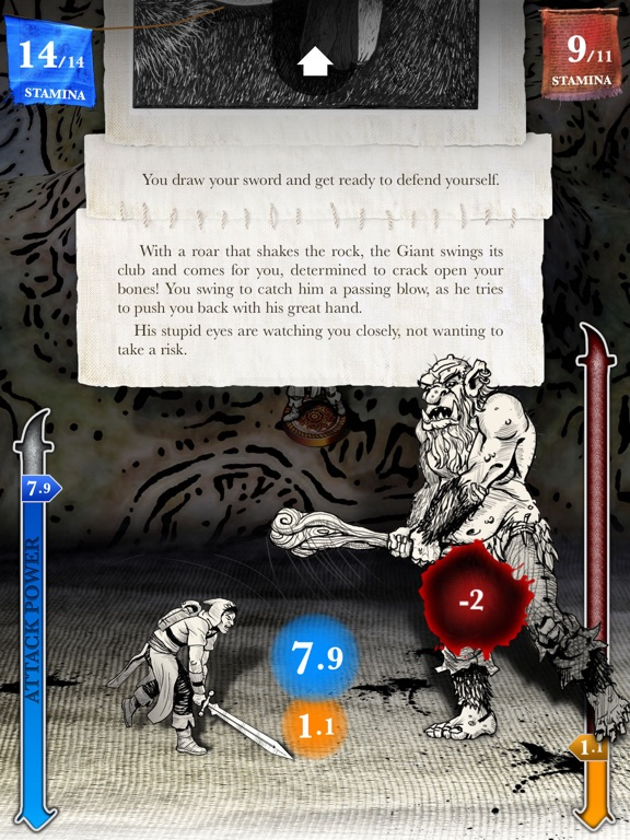 Sorcery! Screenshot