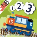 123 Trains: COUNTING FUN with interactive TOY TRAINS for your iPad