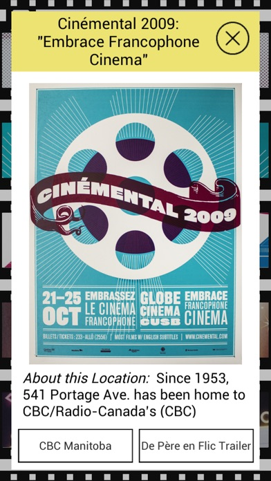 Cinémental 25 Screenshot