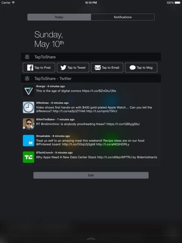 TapToShare Screenshot