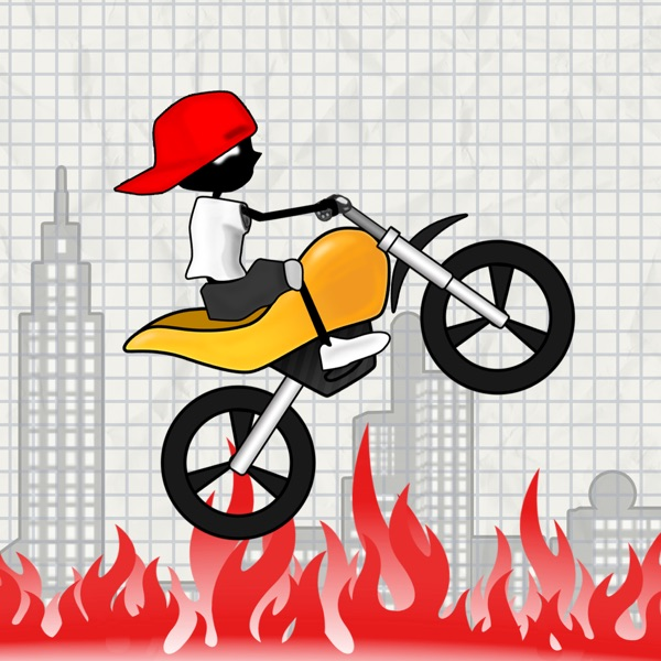 Real Stunt Racing-The Doodle Bike &Car Chase Games