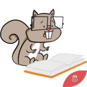 Happy Squirrel stickers by Hazal for iMessage