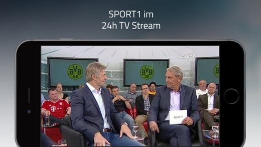 SPORT1 Video, Sport Clips, Livestream & TV Screenshot