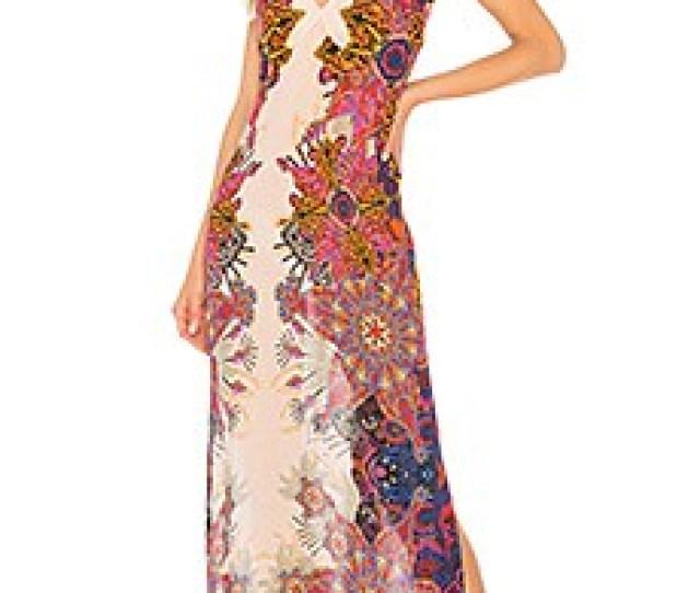 Wildflower Printed Slip Dress Free People