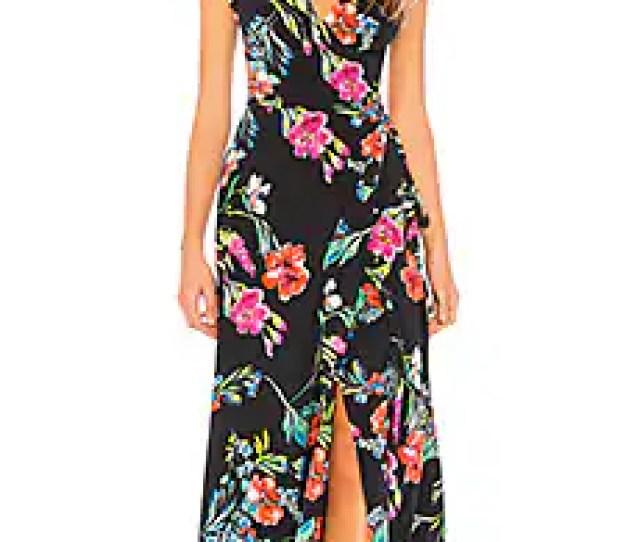 Swept Away Silk Maxi Dress Yumi Kim