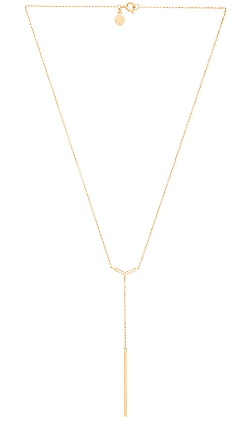 Gorjana Cress Shimmer Lariat Necklace