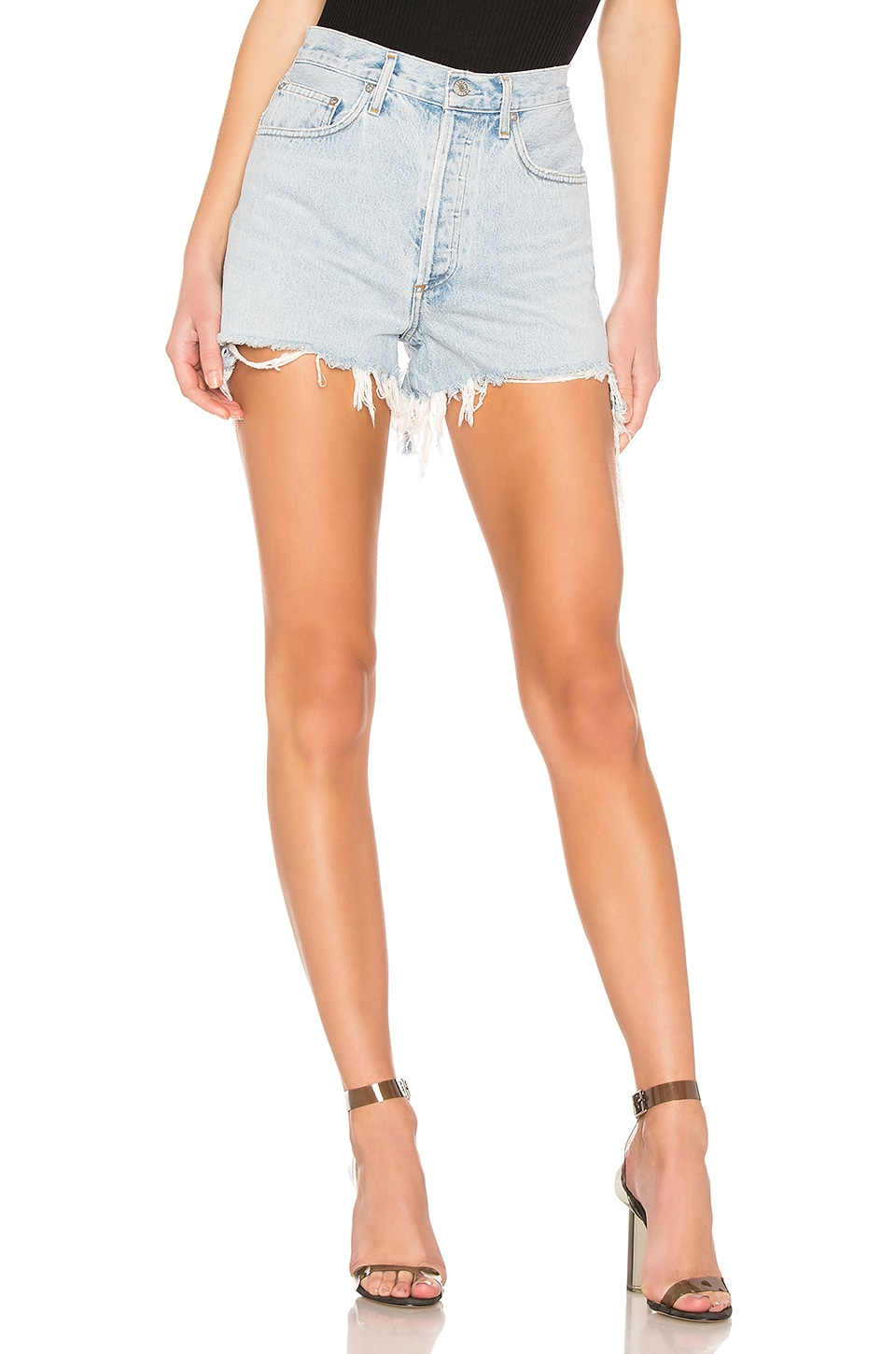 Dee Short                   AGOLDE                                                                                                                                                     Sale price:                                                                        CA$ 100.70                                                                                                  Previous price:                                                                       CA$ 167.39 4