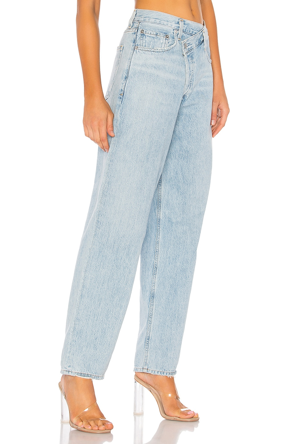 Criss Cross Upsized Jean, view 3, click to view large image.
