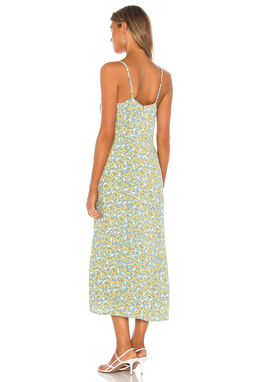 Mai Slip Woven Dress, view 3, click to view large image.
