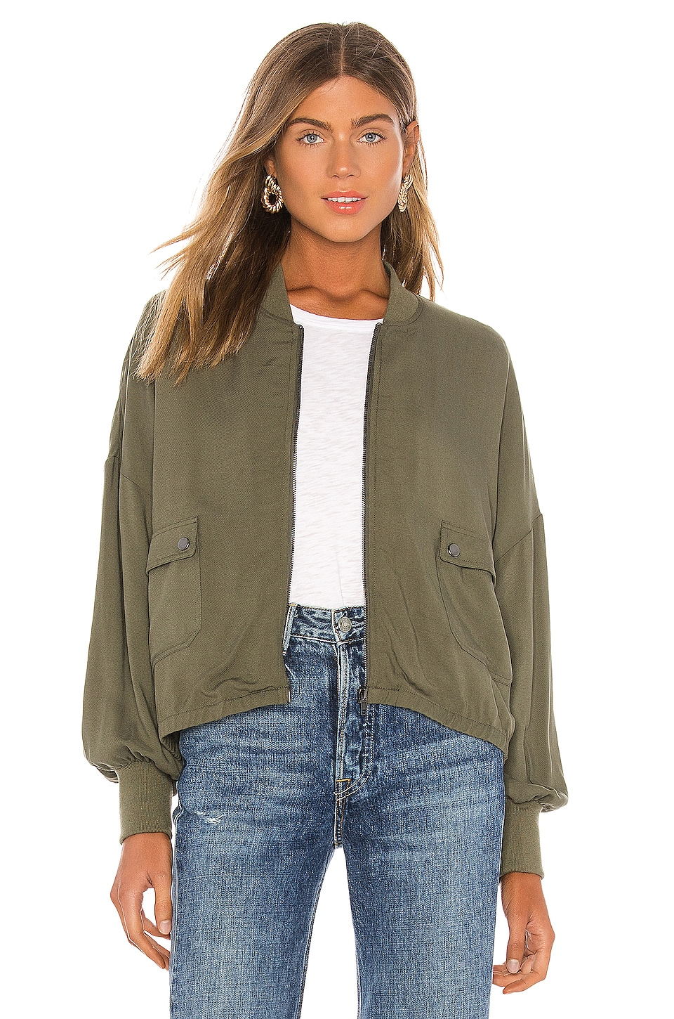 JACK by BB Dakota Flight Club Bomber Jacket                     BB Dakota 6