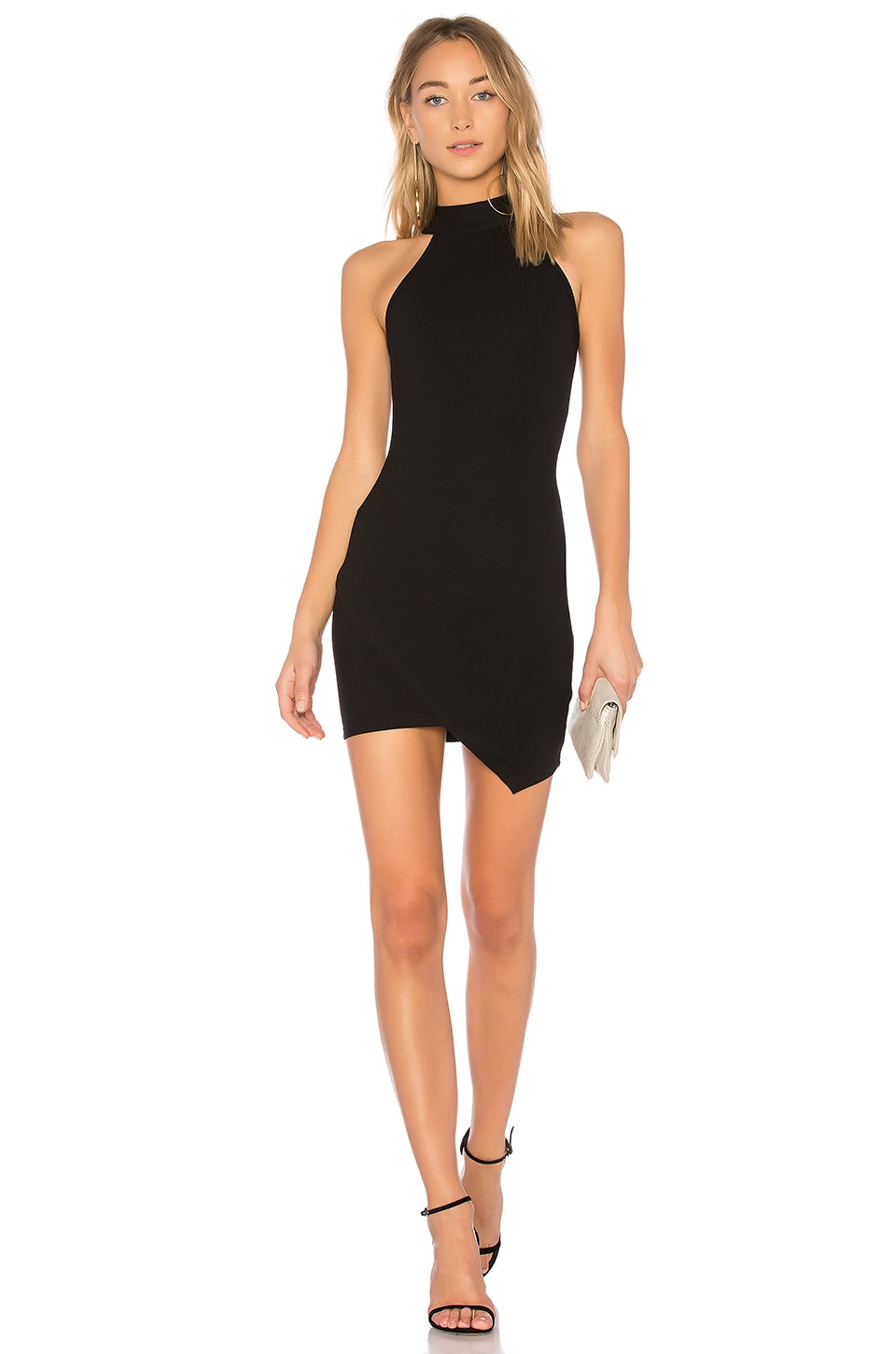Tegan Wrap Mini Dress                     superdown 7
