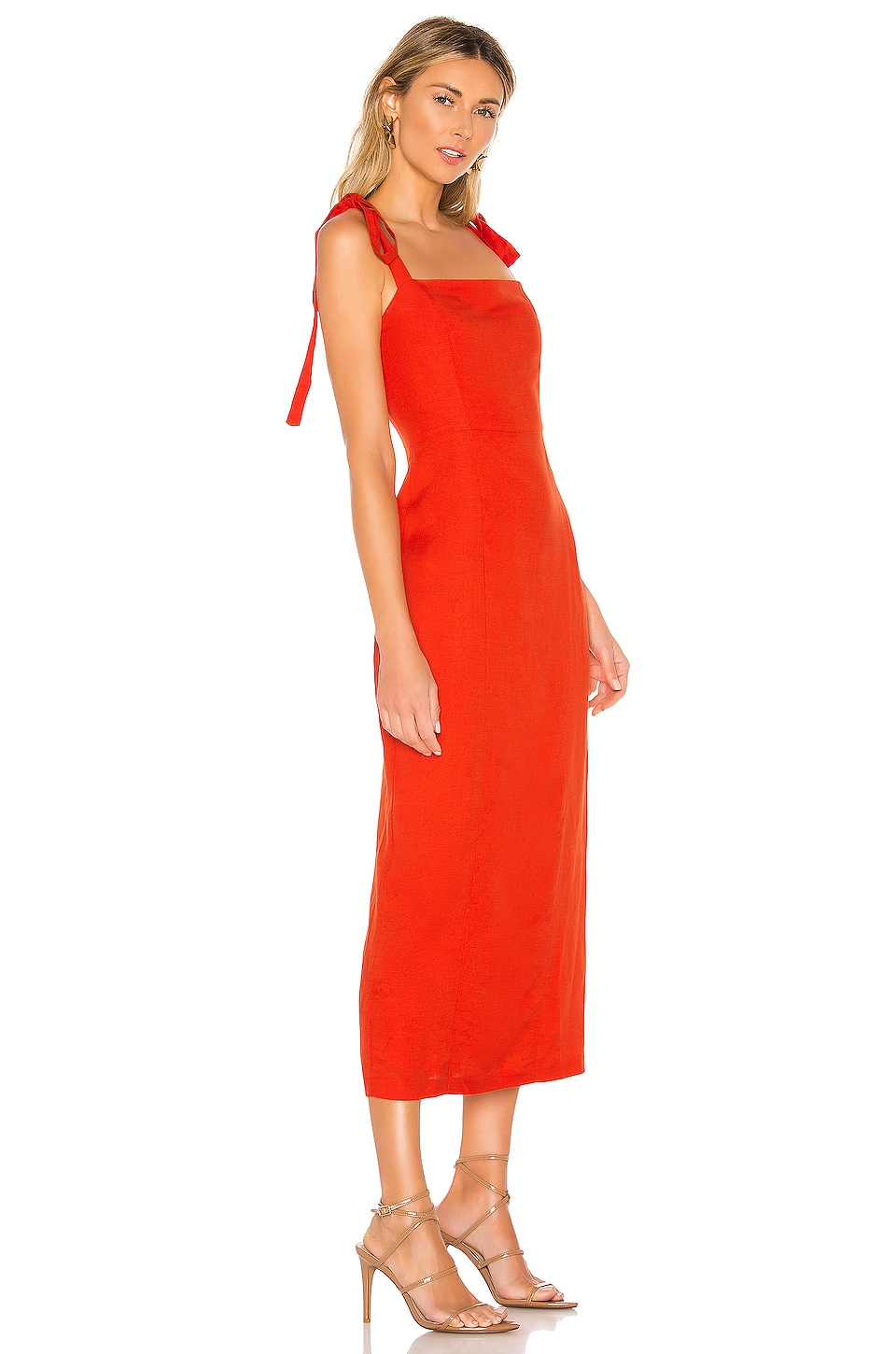 Camille Midi Dress, view 2, click to view large image.