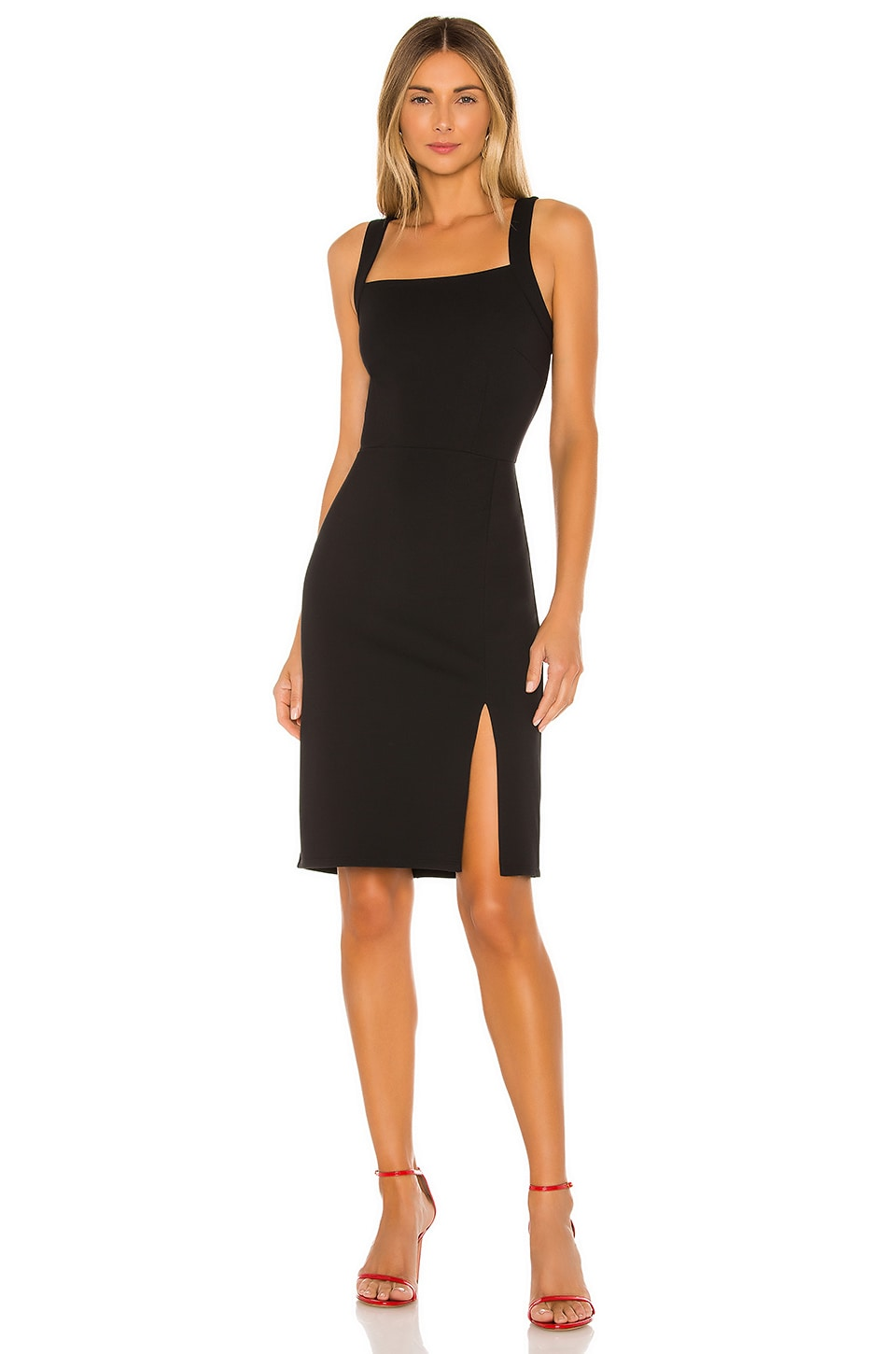Cardiff Ponte Slit Dress             cupcakes and cashmere                                                                                                       CA$ 143.60 10