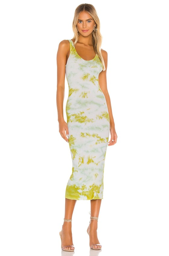 Silk Rib Tank Midi Dress             Enza Costa                                                                                                       CA$ 281.52 9
