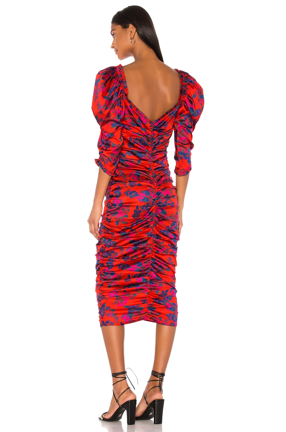 Monet Midi Dress, view 3, click to view large image.