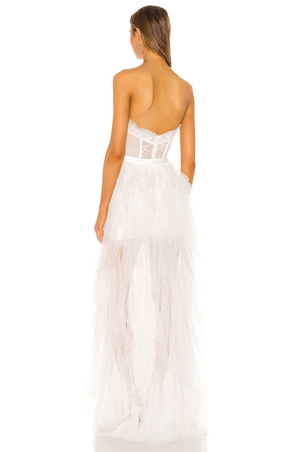 X REVOLVE Bustier Gown, view 3, click to view large image.