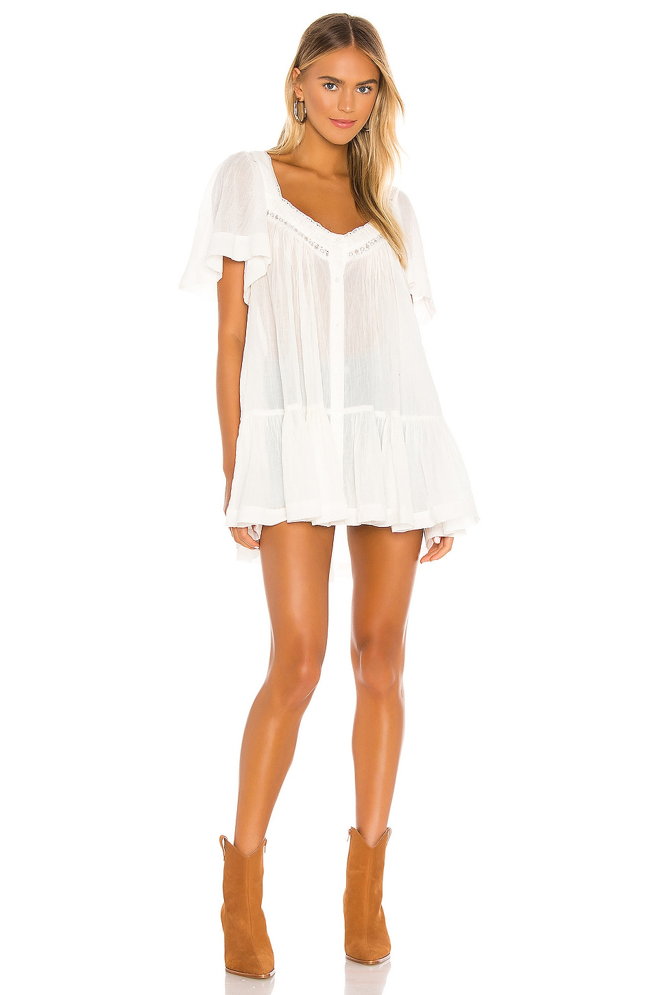 Hearts Desire Mini Dress                     Free People 6
