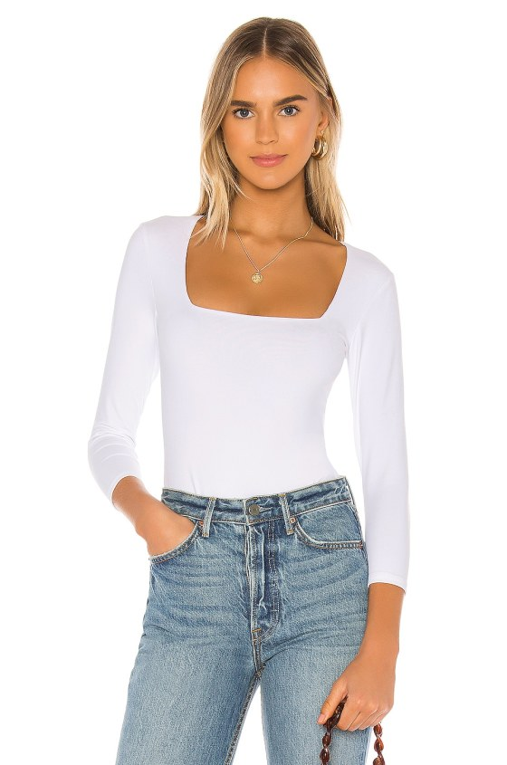 Truth Or Square Bodysuit                     Free People 4