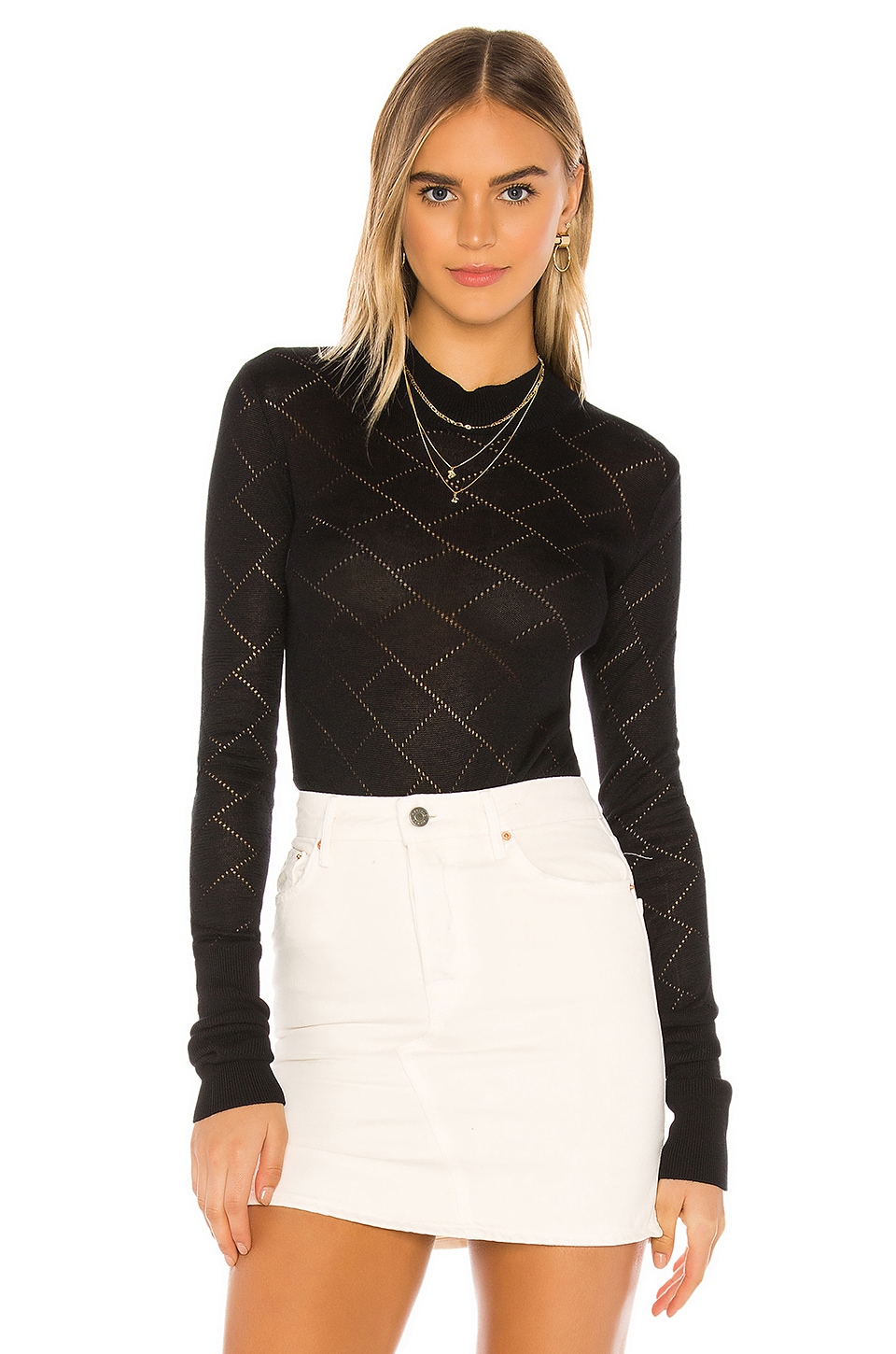 What's The Pointelle Bodysuit                     Free People 5