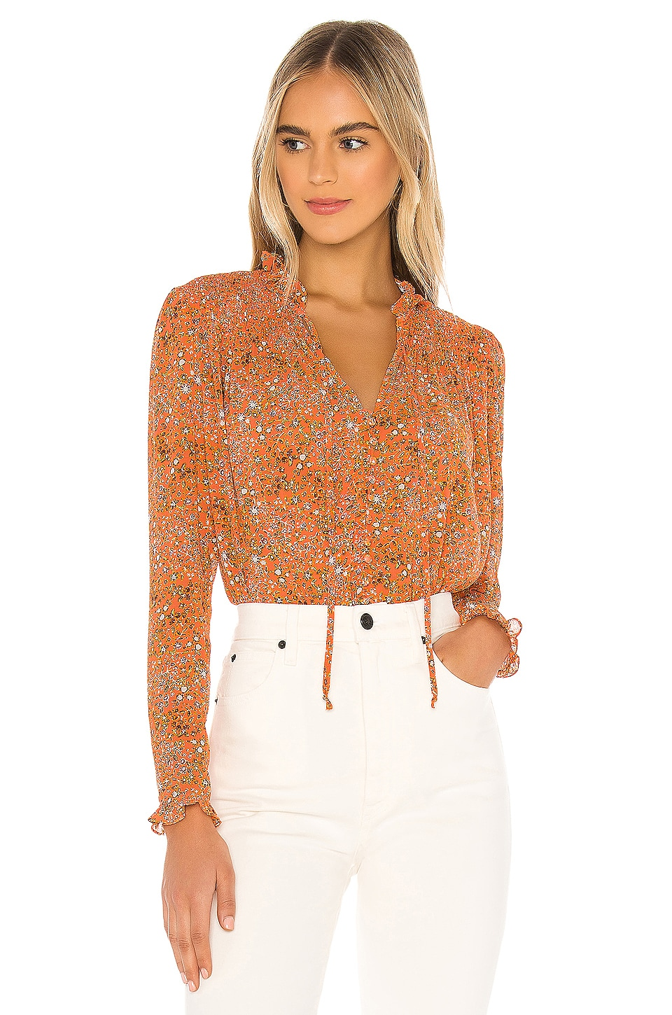 X REVOLVE Lela Blouse                     Free People 9