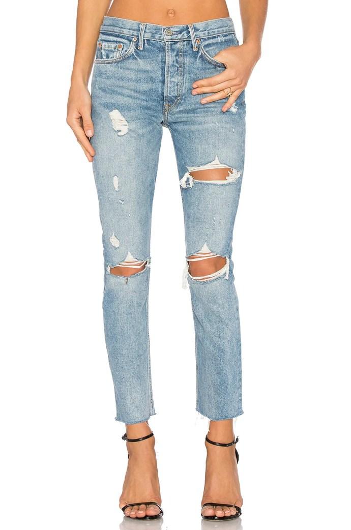 x REVOLVE PETITE Karolina High-Rise Skinny Jean