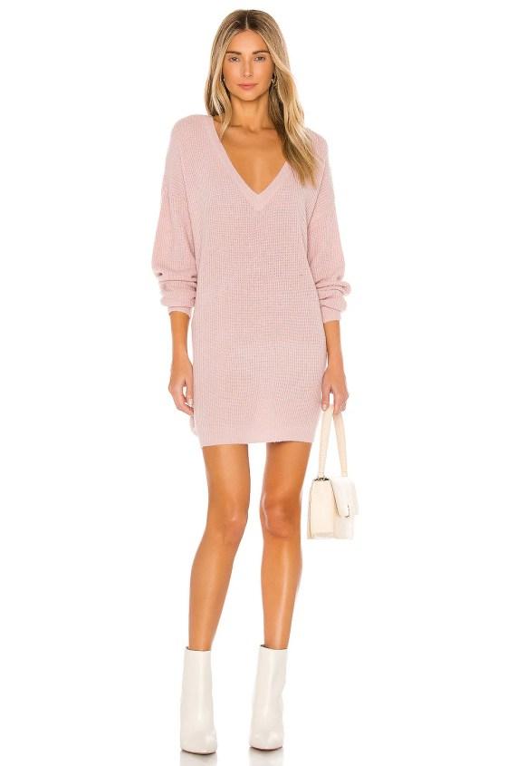 X REVOLVE Berto Sweater Dress                   John & Jenn by Line                                                                                                                             CA$ 128.16 5