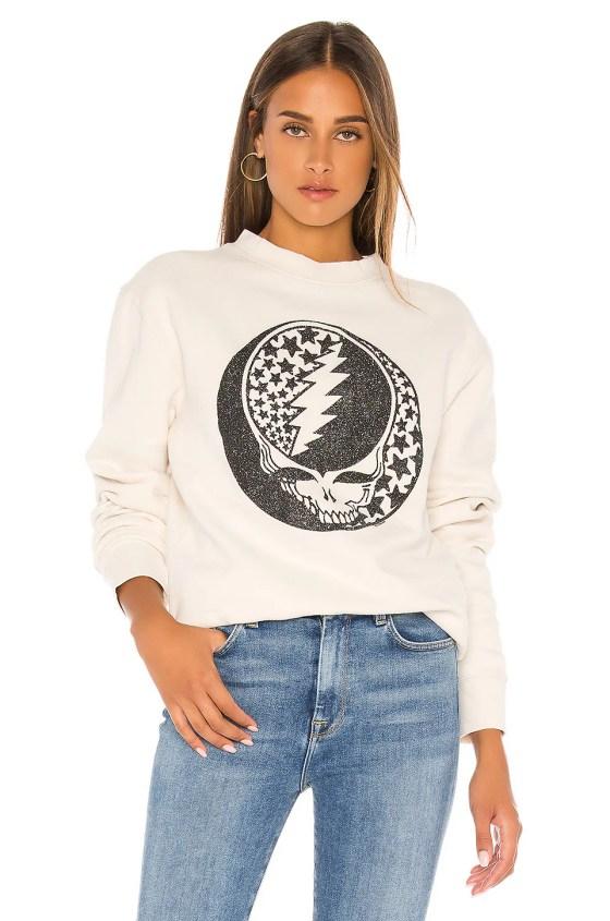 Grateful Dead Glitter Sweatshirt                   Junk Food                                                                                                                             CA$ 88.93 7