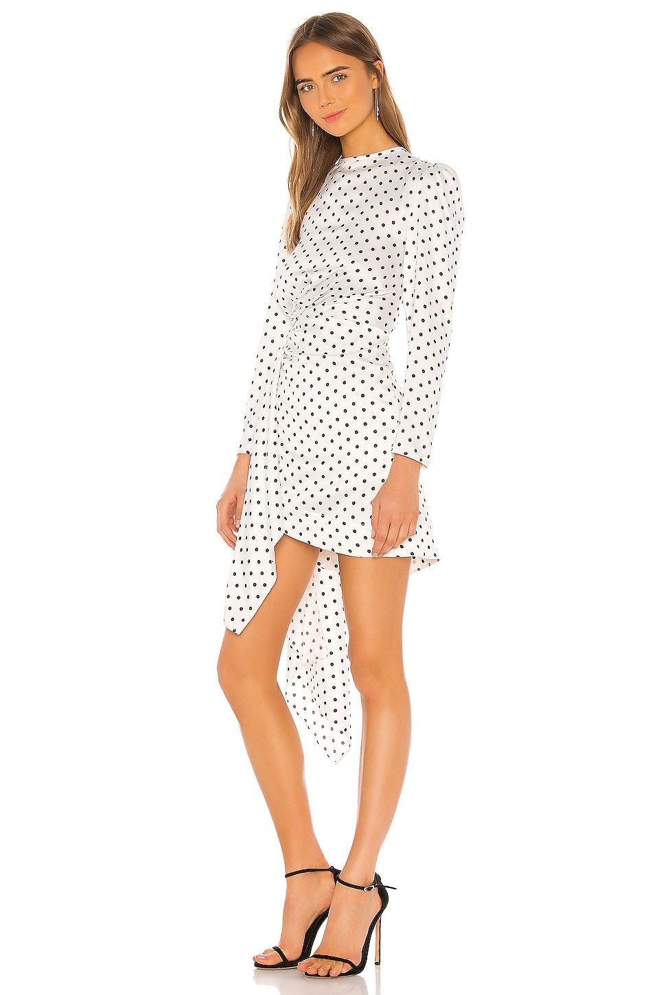 Foolish Long Sleeve Mini Dress, view 3, click to view large image.