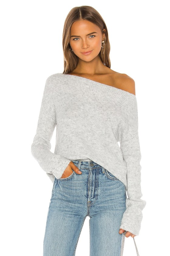 Alayah Off Shoulder Sweater                     Lovers + Friends 2