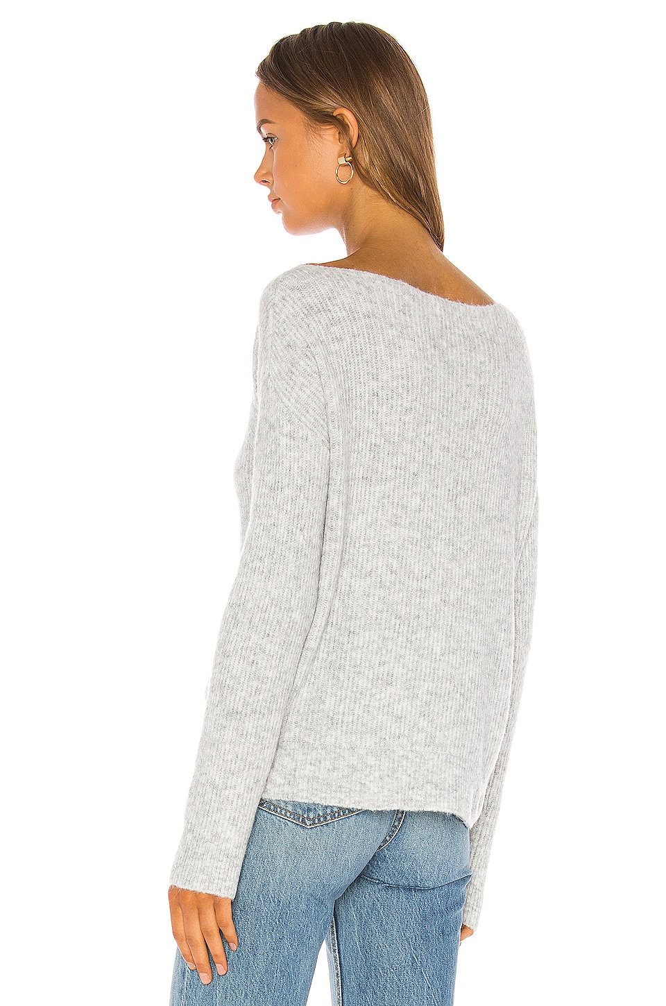 Alayah Off Shoulder Sweater, view 4, click to view large image.