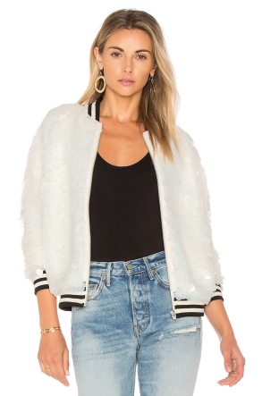 x REVOLVE The Going Out Sequin Bomber
