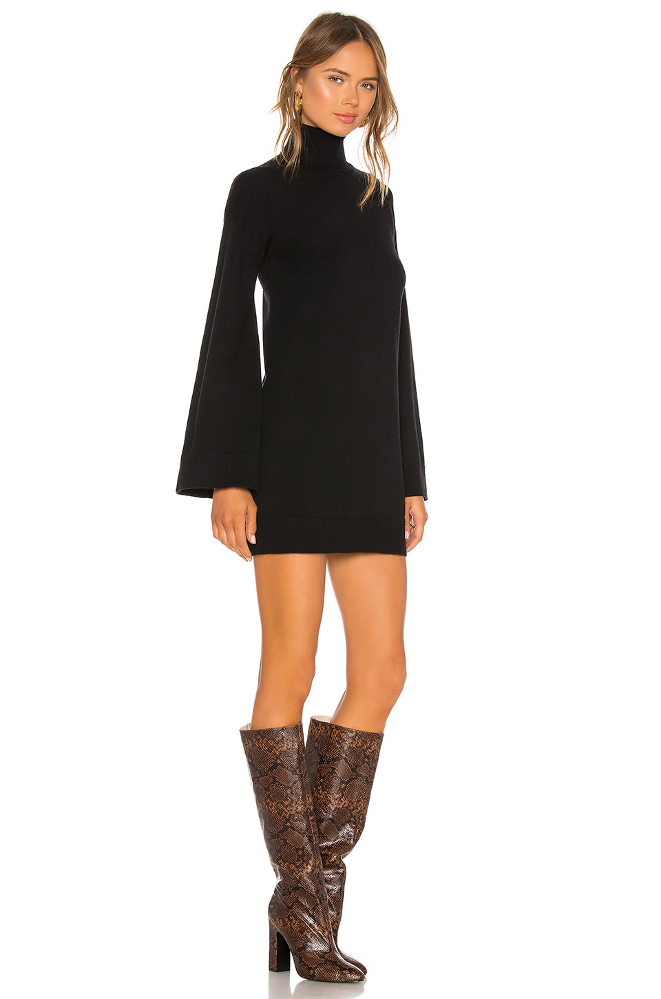 Fallon Sweater Dress, view 2, click to view large image.