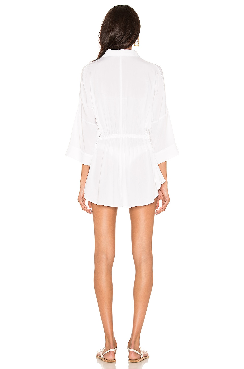 Pacifica Shirt Dress, view 4, click to view large image.