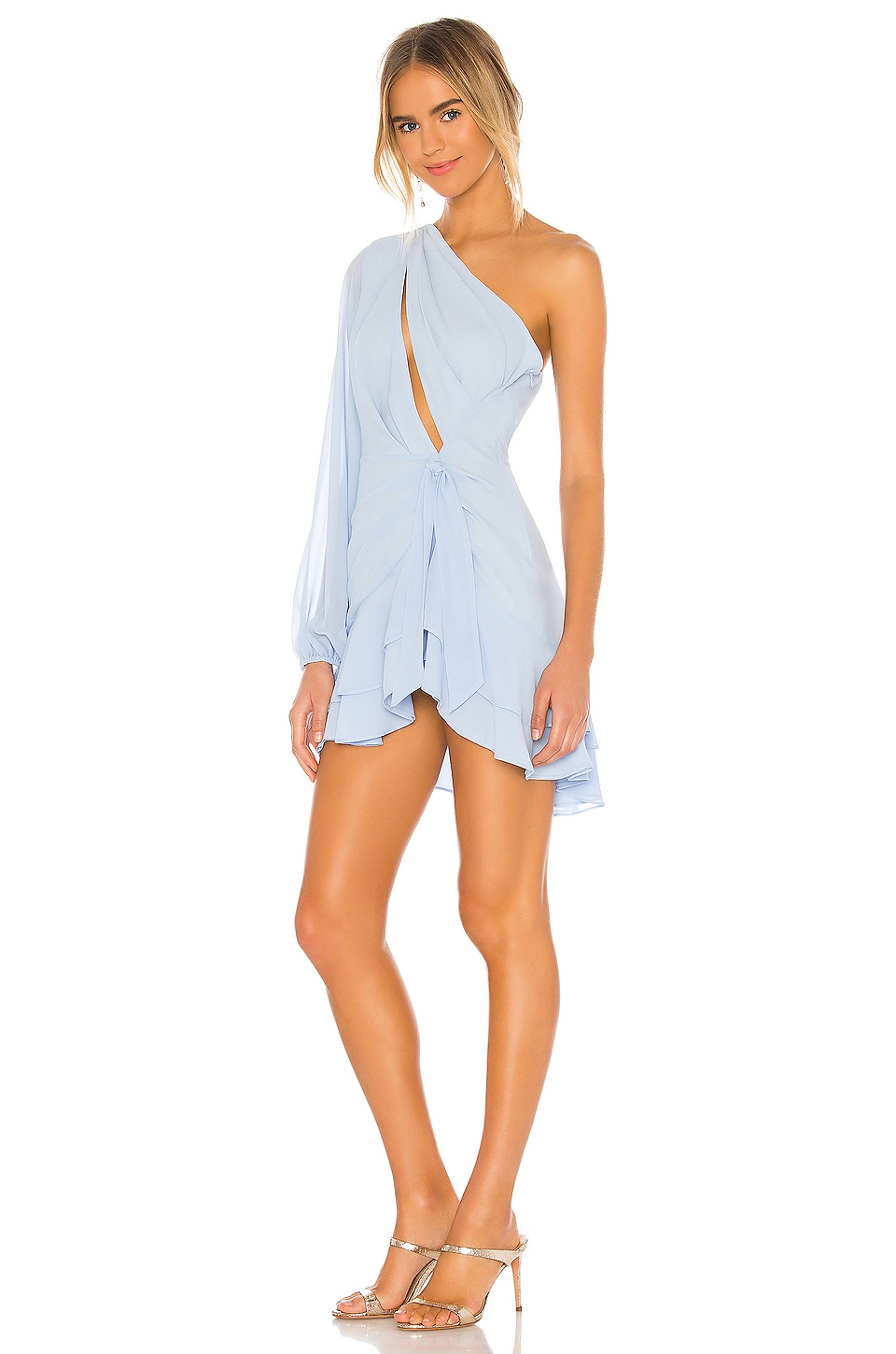 x REVOLVE Sunny Mini Dress, view 3, click to view large image.