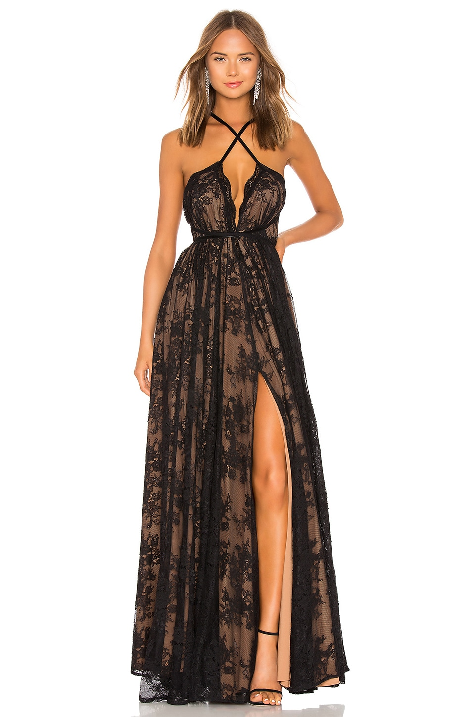 x REVOLVE Paris Gown, view 2, click to view large image.