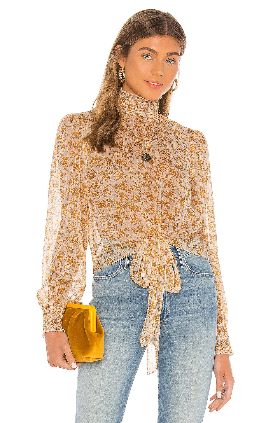 Lana High Neck Blouse             MINKPINK                                                                                                       CA$ 98.11 3